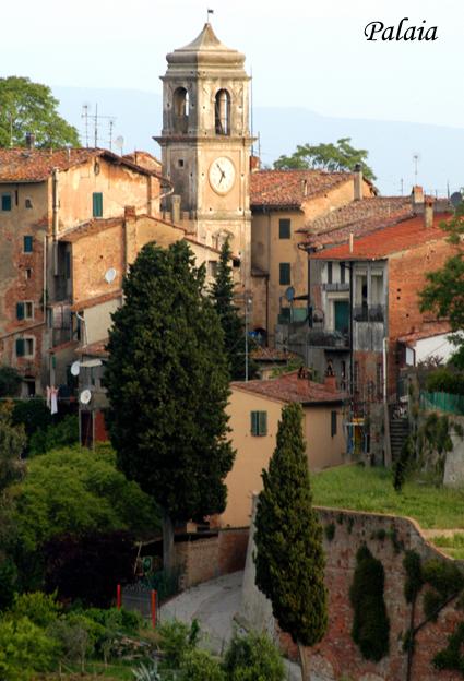 il borgo medioevale di Palaia