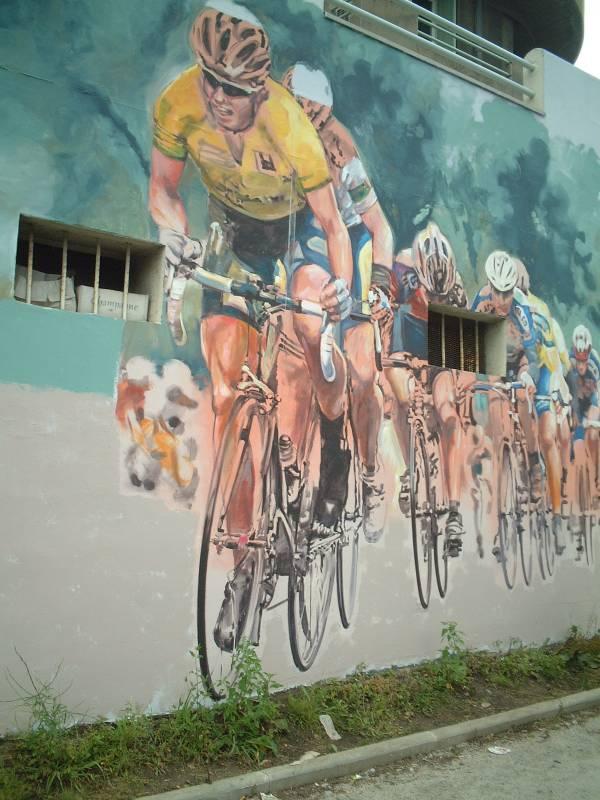 bici sui muri