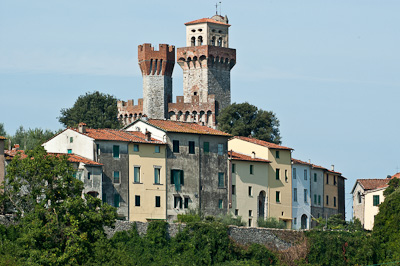 il castello di nozzano