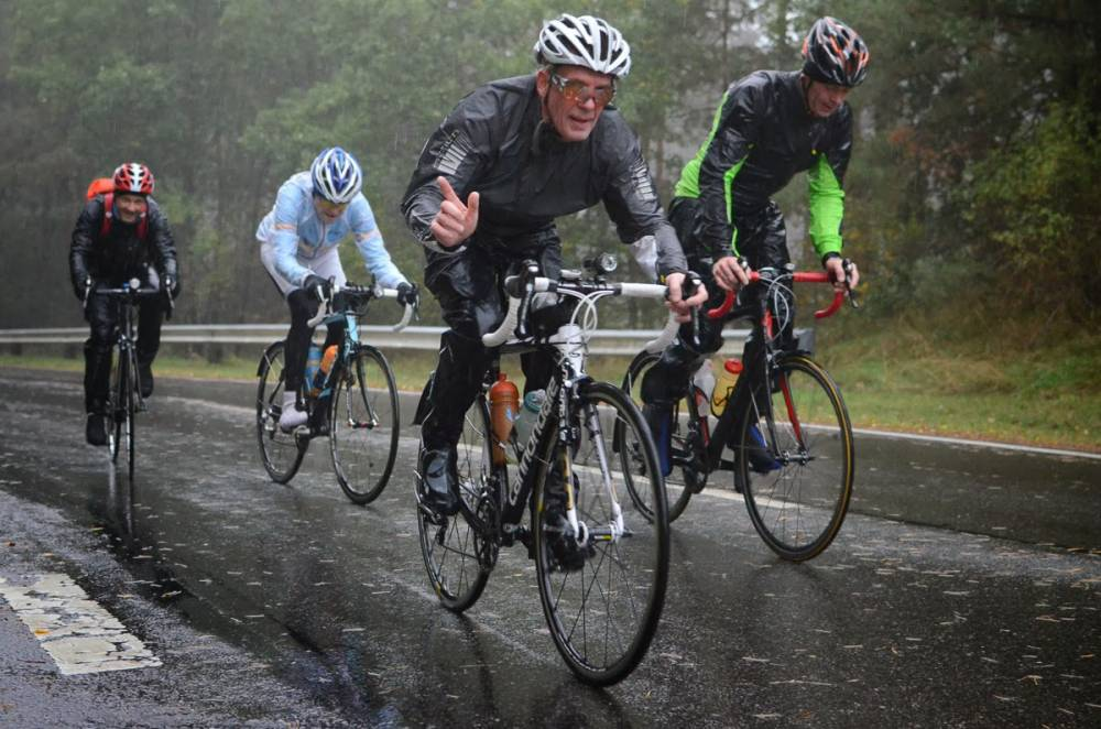 pioggia e ciclismo