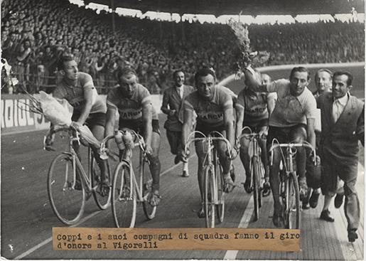1947 Coppi e la Bianchi al Vigorelli