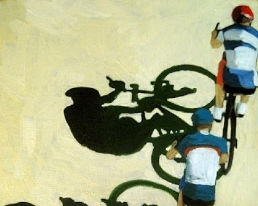 ciclisti disegno