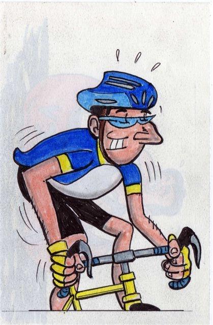 vignetta ciclista