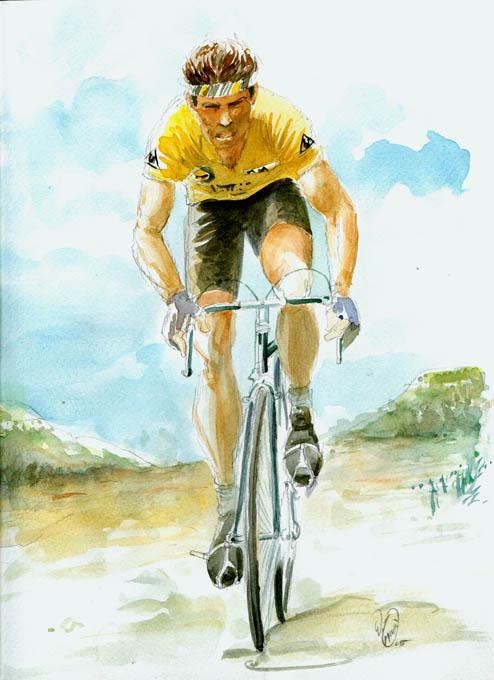 giallo ciclista