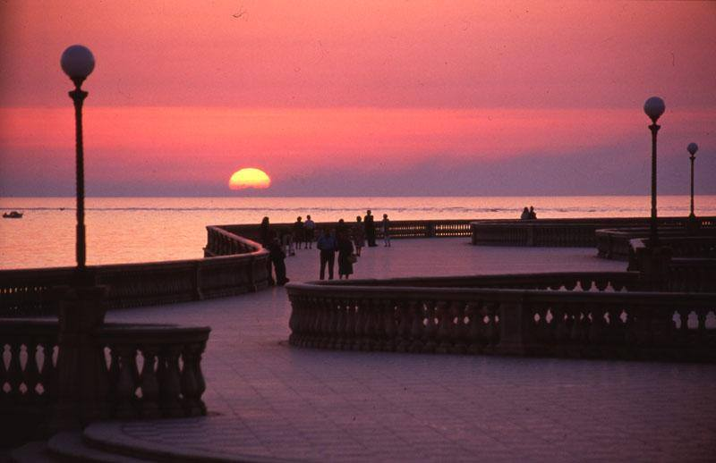 Livorno, la terrazza